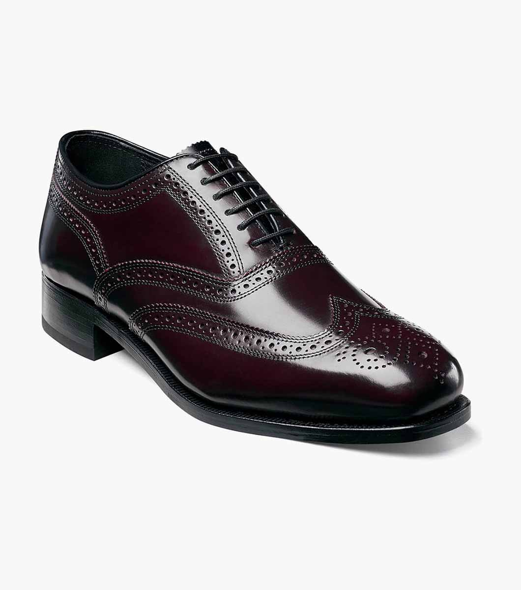 Lexington Wingtip Leather Classic Oxford