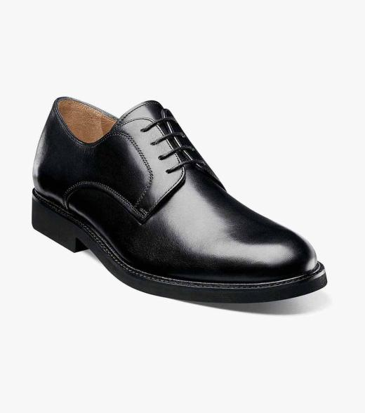 Florsheim Men's Gallo Plain Toe Leather Dress Oxford