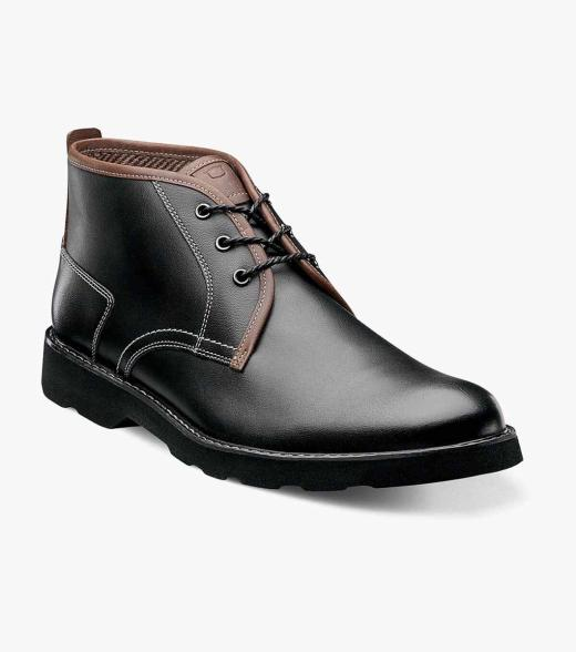 Casey Florsheim Men's Casey Plain Toe Leather Casual Chukka Boot
