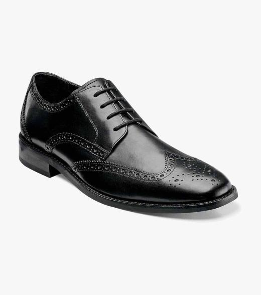 Florsheim Men's Castellano Wing Tip Leather Dress Oxford