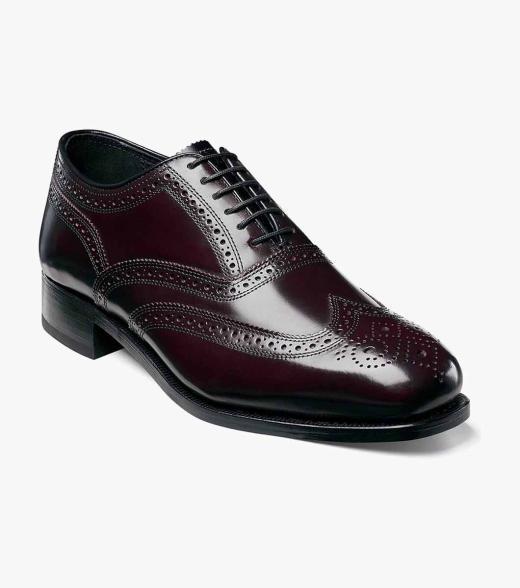 Lexington Florsheim Men's Lexington Wingtip Leather Classic Oxford