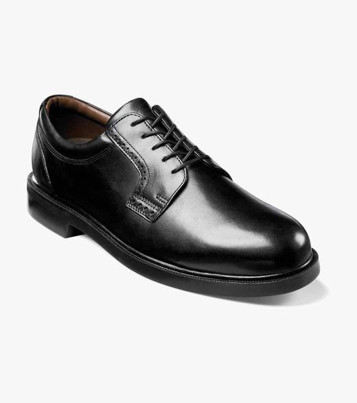 Noble Florsheim Men's Noble Plain Toe Leather Classic Oxford