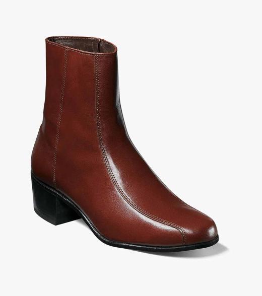 Mens Florsheim Men's Duke Side Zip Boots For Sale Size 47
