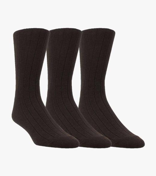 Image of 3-Pack Ribbed Mens socks