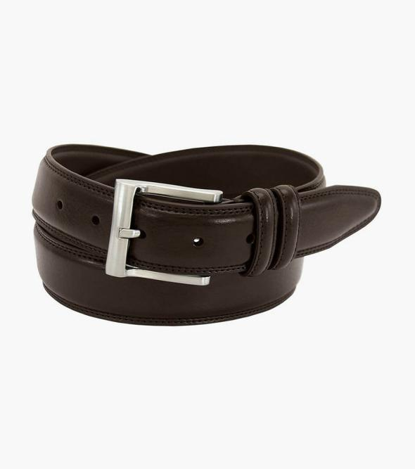 Martin Pebble Grain Leather Belt
