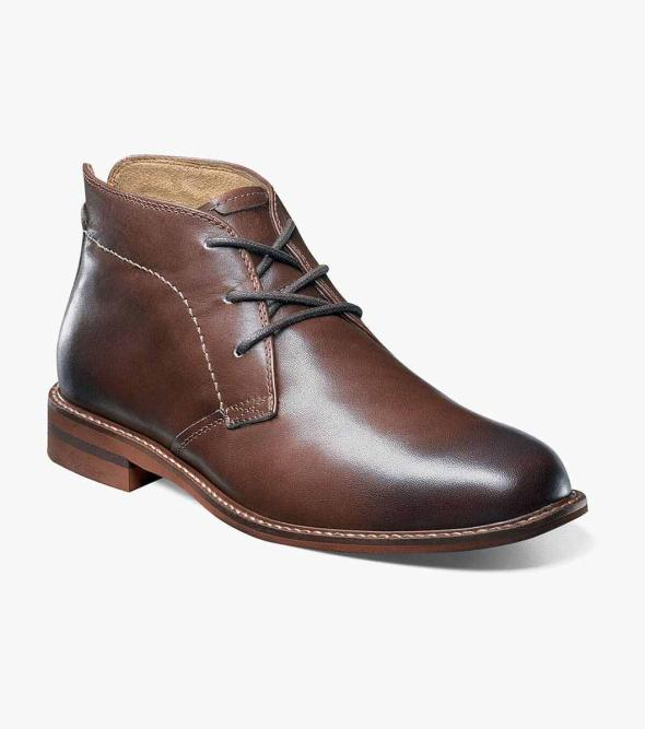 Duane Plain Toe Chukka Boot