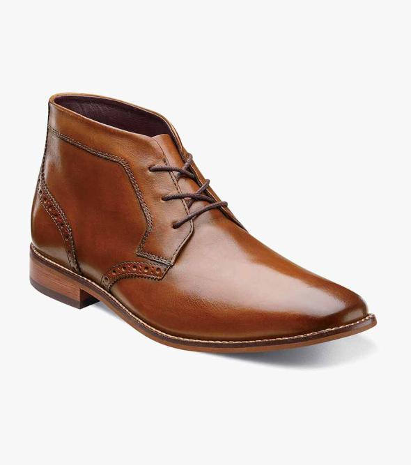 Montinaro Plain Toe Chukka Boot
