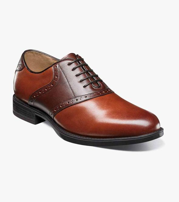 Midtown Plain Toe Saddle Oxford