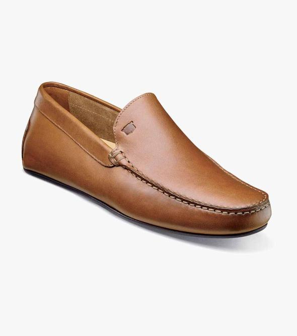 Navono Moc Toe Venetian Slip On