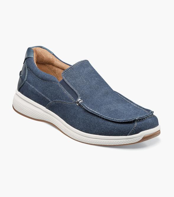 Great Lakes Canvas Moc Toe Slip On