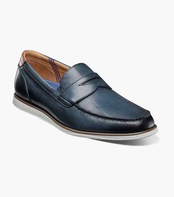 Atlantic Moc Toe Penny Loafer