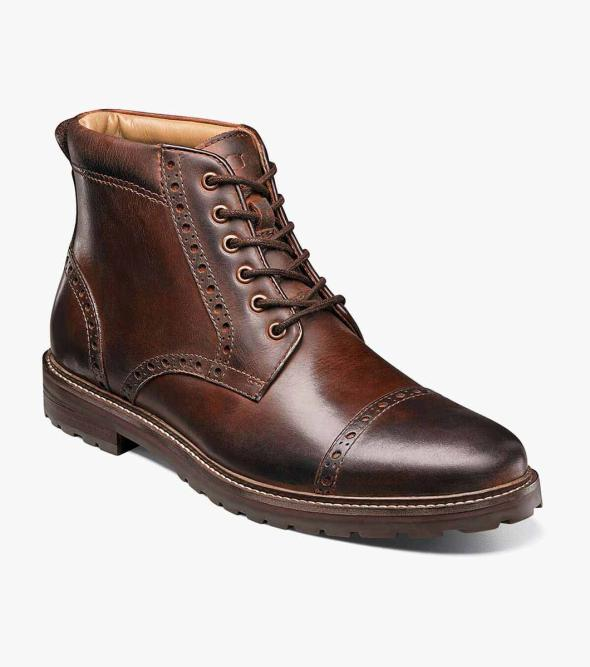 Estabrook  Cap Toe Boot