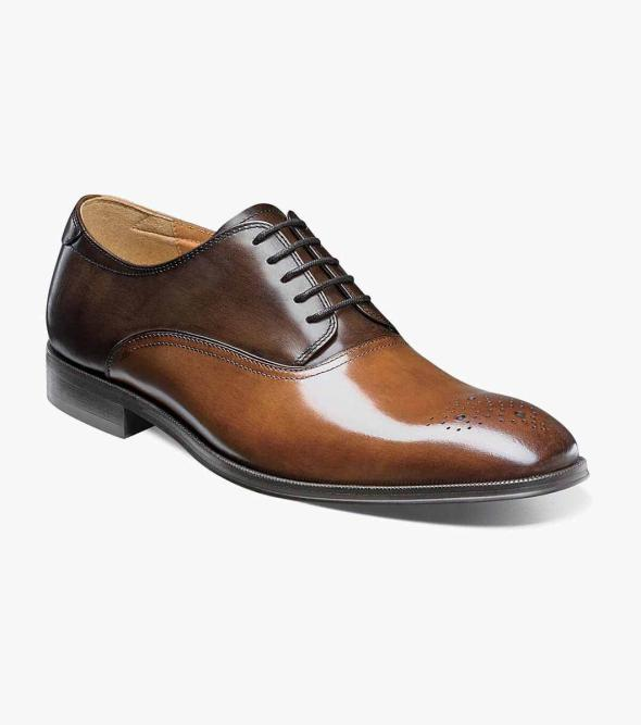 Belfast Medallion Toe Oxford