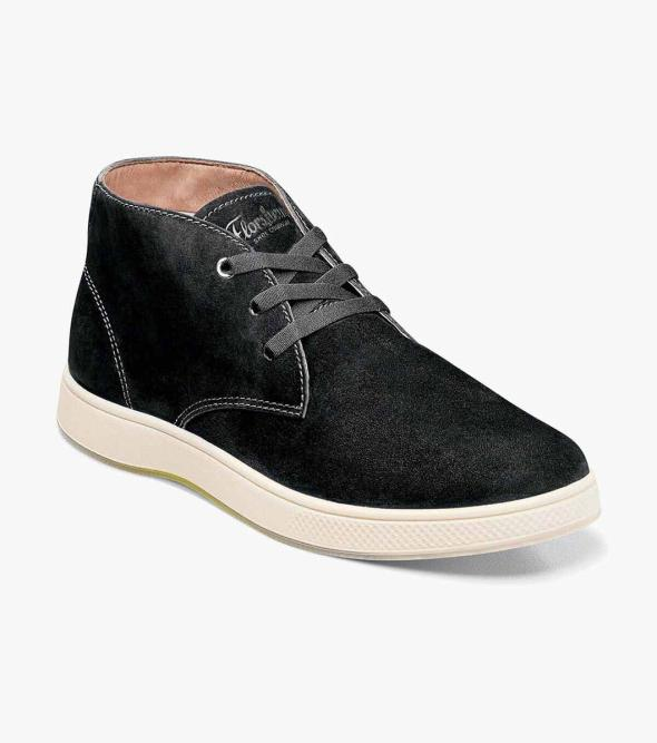 Edge Plain Toe Chukka Boot