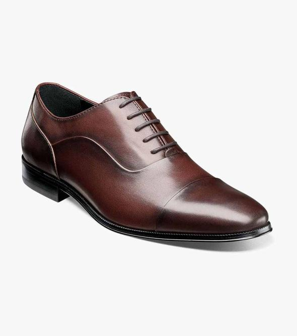 Jetson Cap Toe Oxford