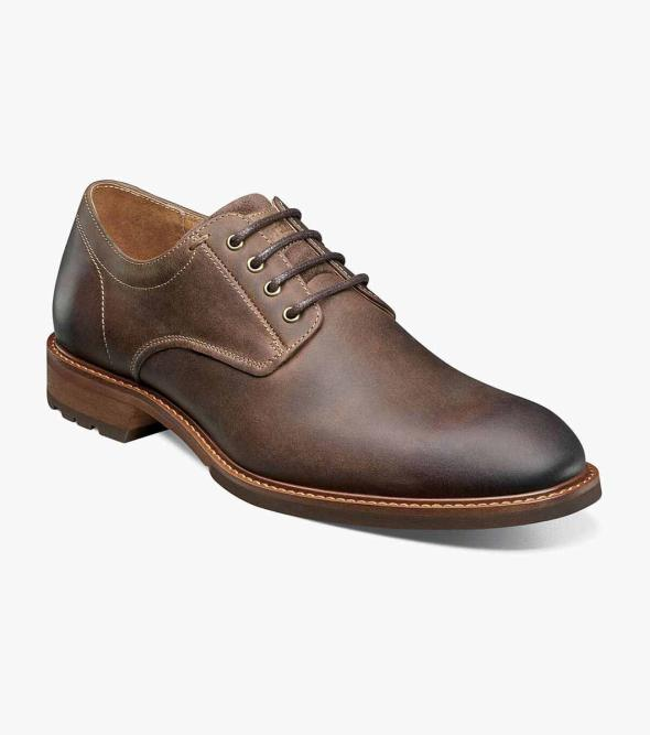 Lodge Plain Toe Oxford