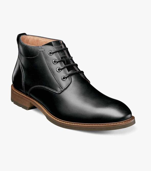 Lodge Plain Toe Chukka Boot