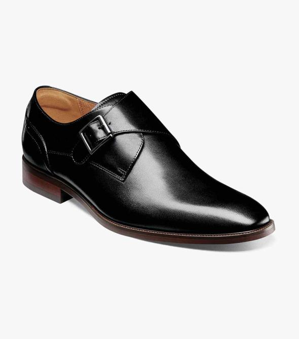 Sorrento Plain Toe Single Monk Strap
