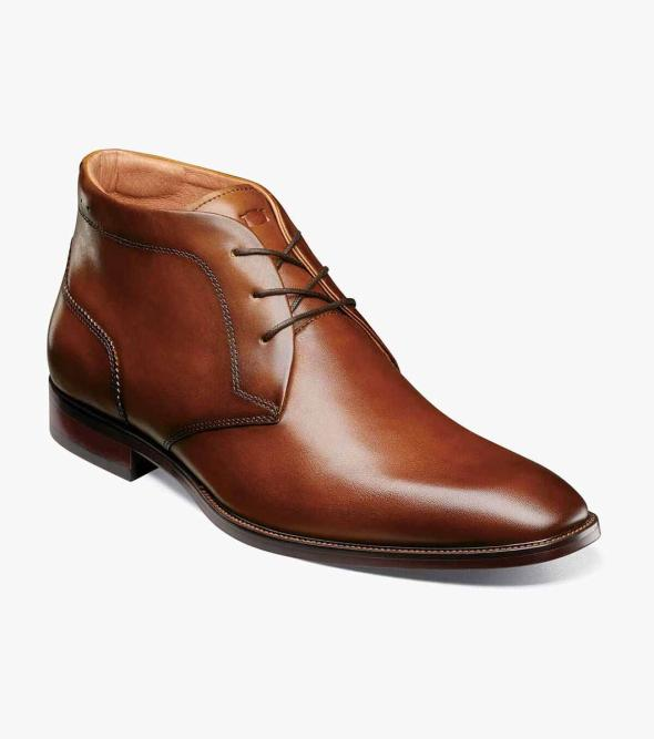 Sorrento Plain Toe Chukka Boot