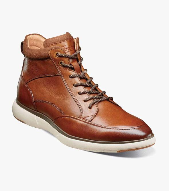 Flair Moc Toe Lace Up Boot