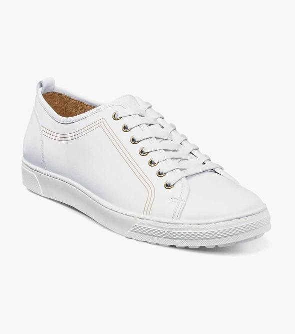 Forward  Plain Toe Lace Up Sneaker