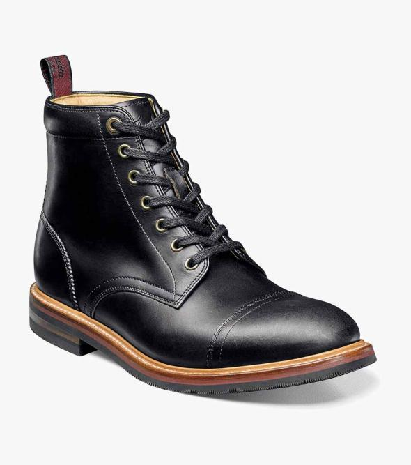 Foundry Cap Toe Boot