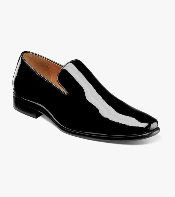 Postino Plain Toe Slip On
