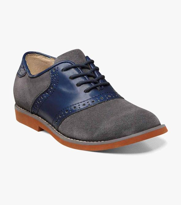 Kennett Jr. Plain Toe Saddle Shoe