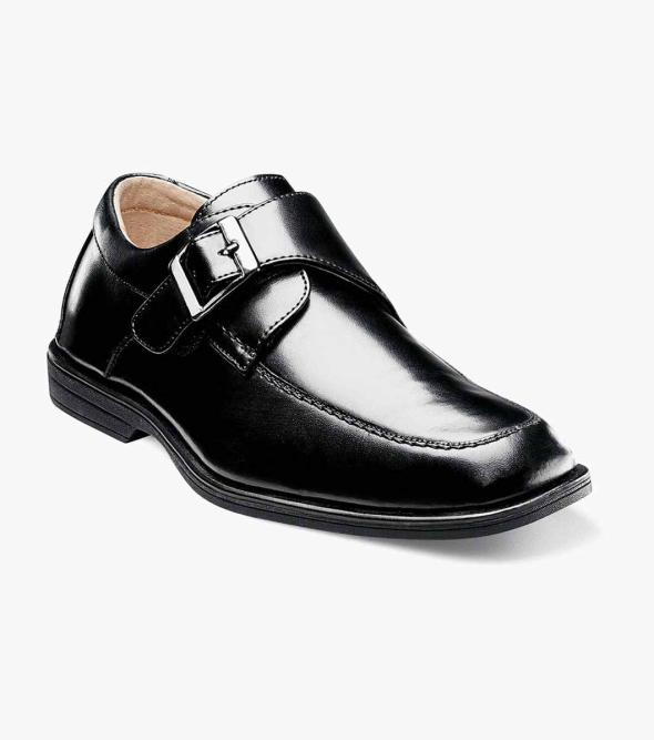 Reveal Jr. Moc Toe Monk Strap Oxford