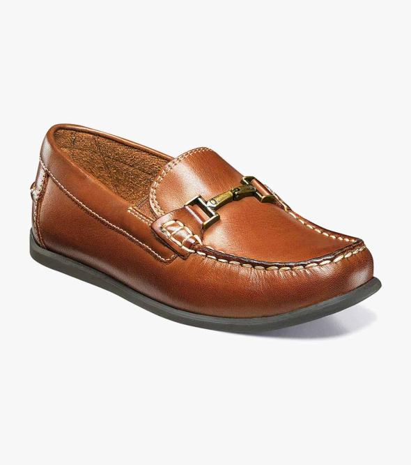 Jasper Jr. Moc Toe Bit Loafer