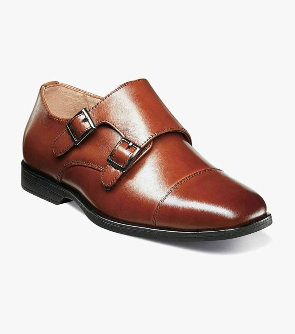 Reveal Jr. Cap Toe Monk Oxford