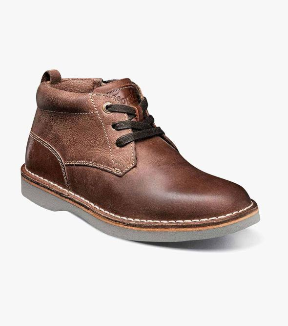 Navigator Jr. Plain Toe Chukka Boot