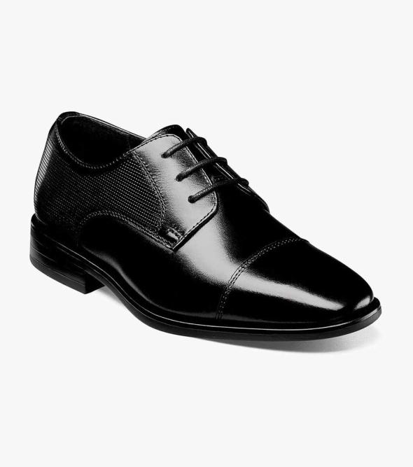 Postino Jr. Cap Toe Oxford