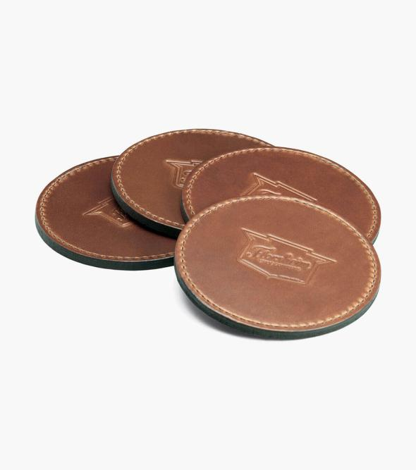 Leather Embossed Coaster MADE IN USA