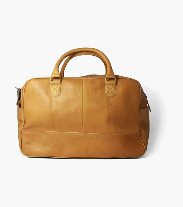 Adelmo Leather Duffle Bag