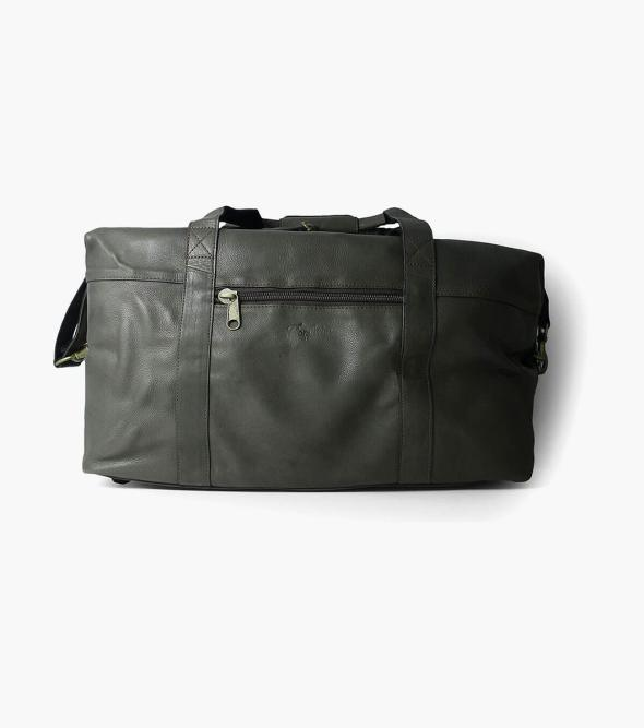 Rhyskender Havana Cow Leather Weekend Bag
