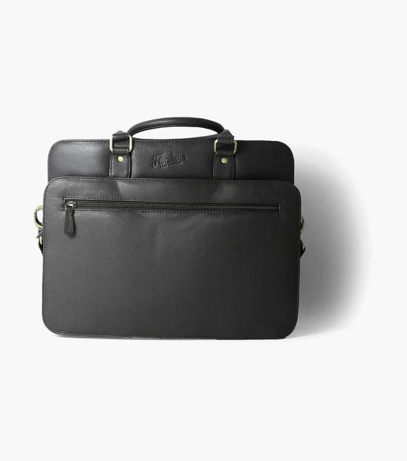 Marieke Vachetta Leather Briefcase