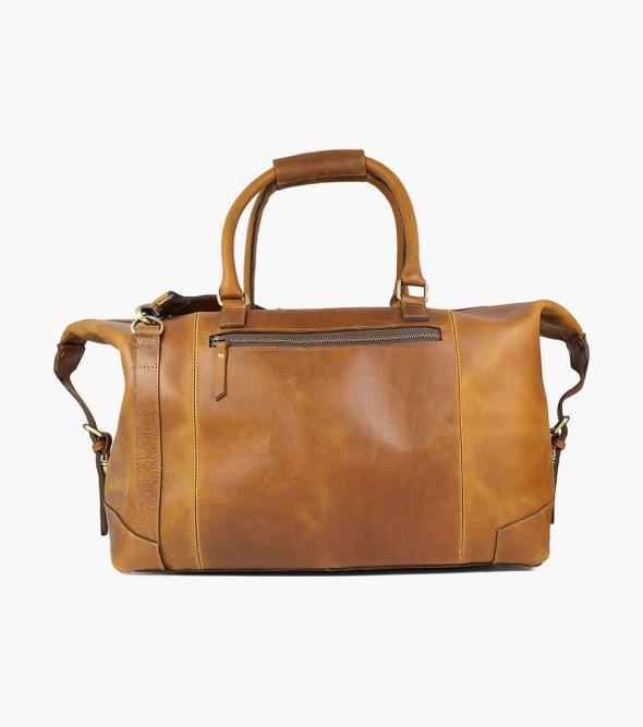 Akalin Buffalo Leather Duffel Bag