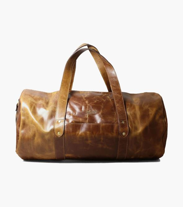 Caruso Leather Travel Bag