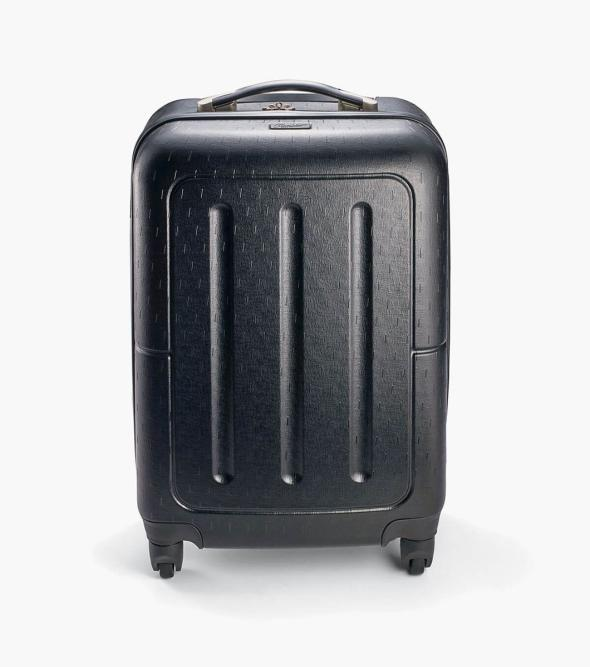 Jet Setter Carry On - Black Hard-Shell Wheeled Luggage