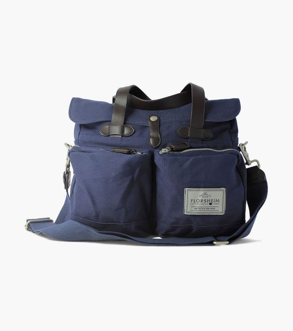 Vincent Vintage Canvas Messenger