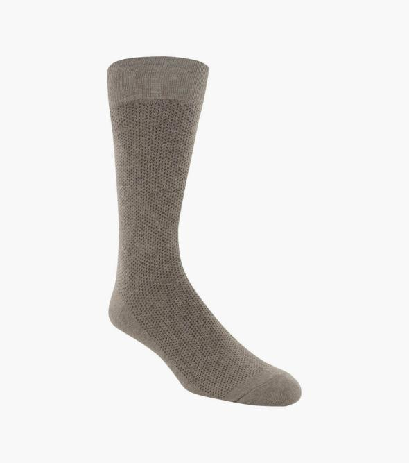Pindot Classic Men's Crew Dress Socks