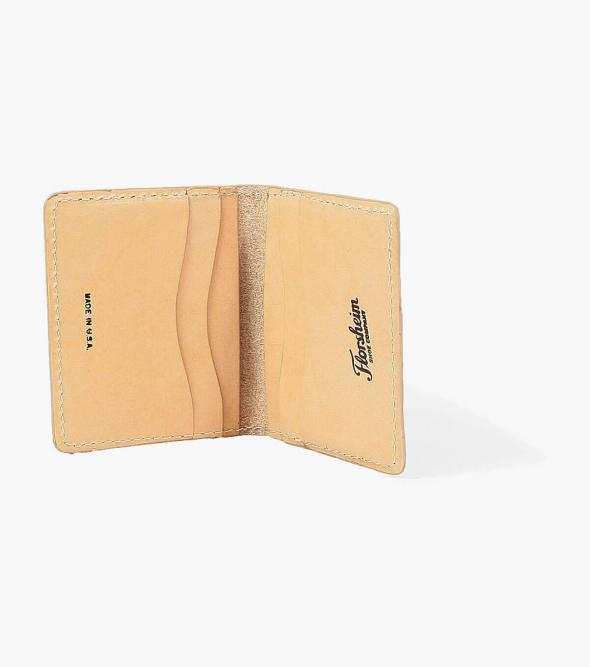 Minimal Bifold Wallet Made in USA