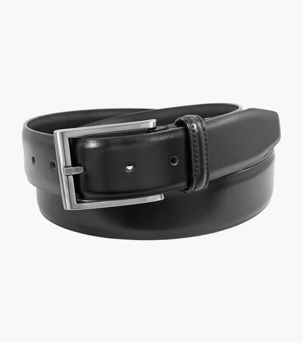 Carmine Genuine Leather Belt