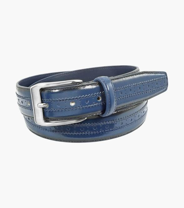 Boselli Center Brogue Belt