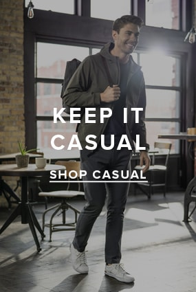 Men's Travel Essentials category. Keep it casual... shop casual. Click here.