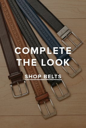 Men's Wingtips category. Complete the look... shop belts. Click here.