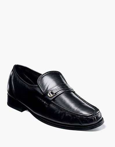 Dancer Moc Toe Bit Loafer in Black for 120.00 dollars.