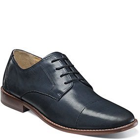 Finley Cap Toe Oxford in Navy for 49.90 dollars.