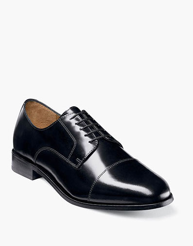Broxton Cap Toe Oxford in Black for 74.90 dollars.